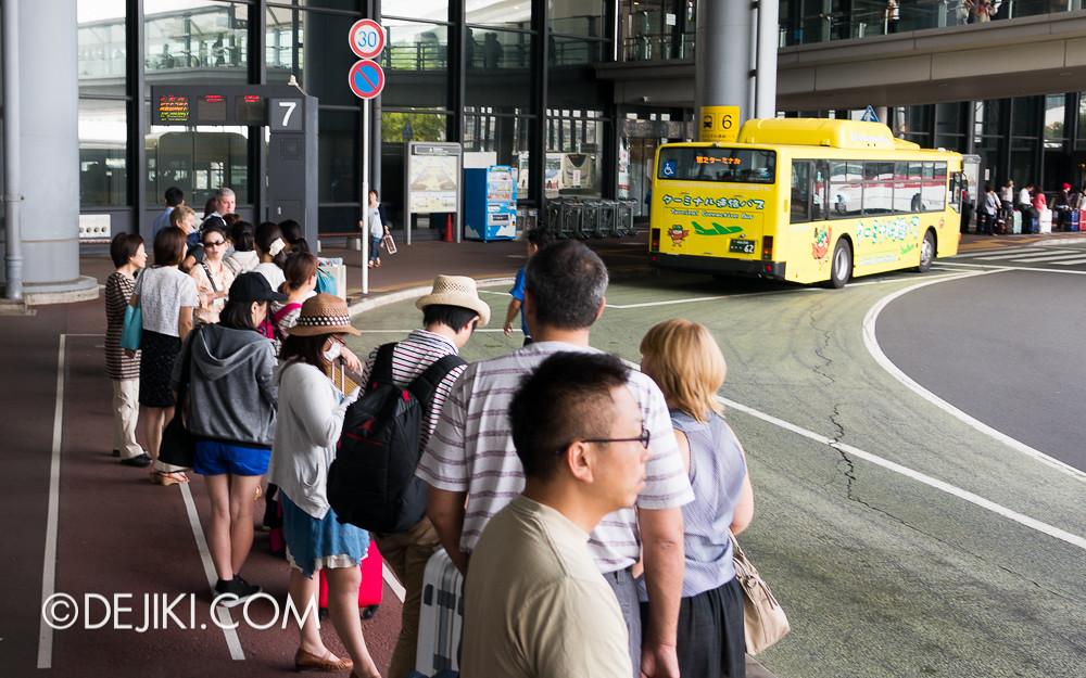 Narita Airport - Airport Limousine Bus Stop