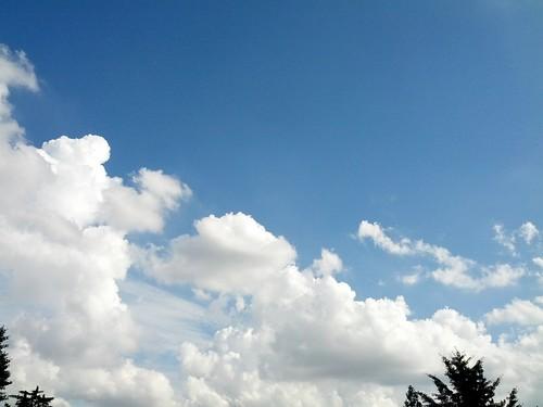 2013년 8월 3일의 하늘 모양