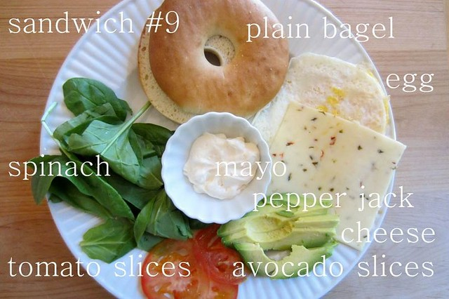 sandwich #9
