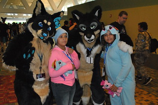 Fursuiters at BronyCon