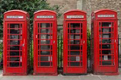 Cabine téléphonique rouge - Red telephone box - London Londres - photo picture image photography