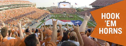 Hook Em Horns Football