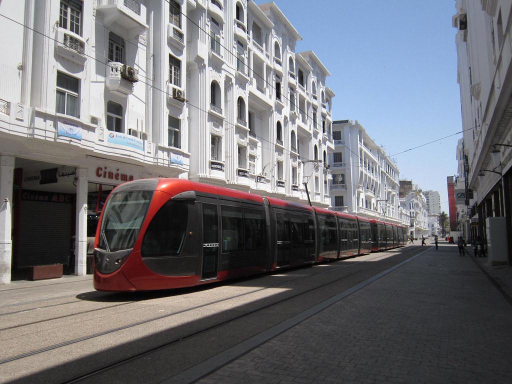 Alstom_Citadis 302 Tramway de Casablanca