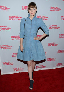 Bella Heathcote Denim Dress Celebrity Style Women's Fashion