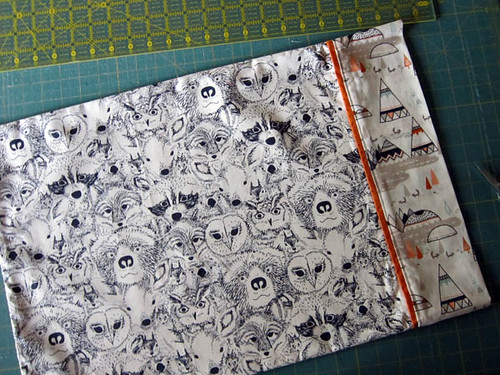 Menagerie fabric by Sarah Watson
