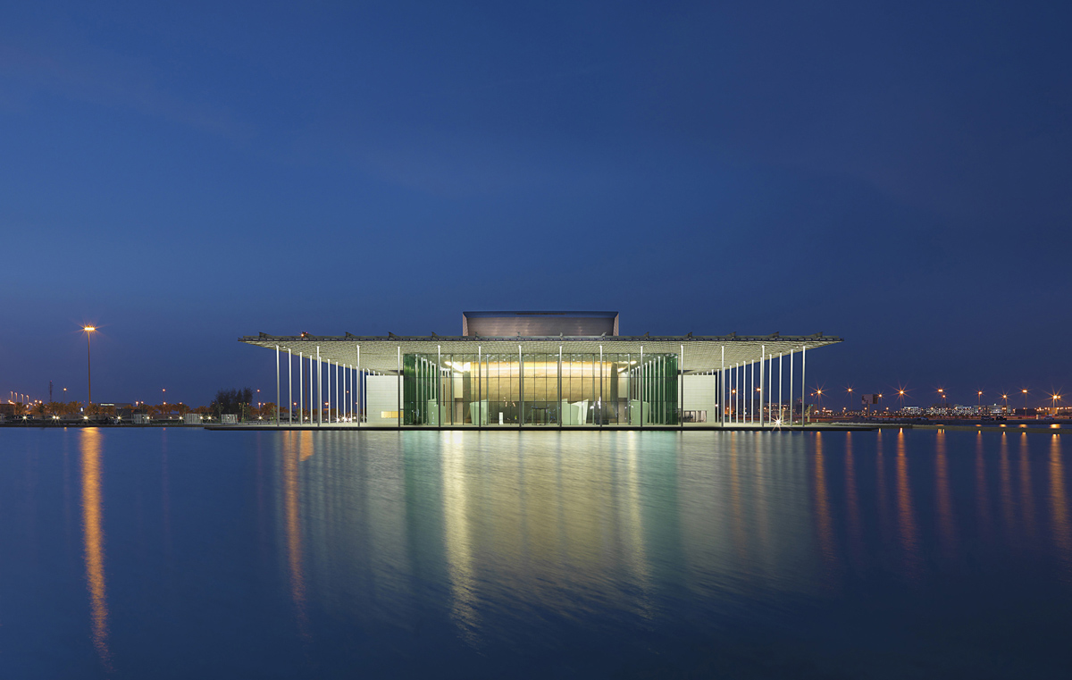 Bahrain National Theatre design by AS.Architecture Studio