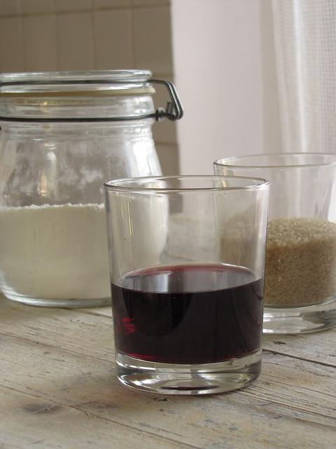 Ciambelline all'Olio d'Oliva e Vino Rosso