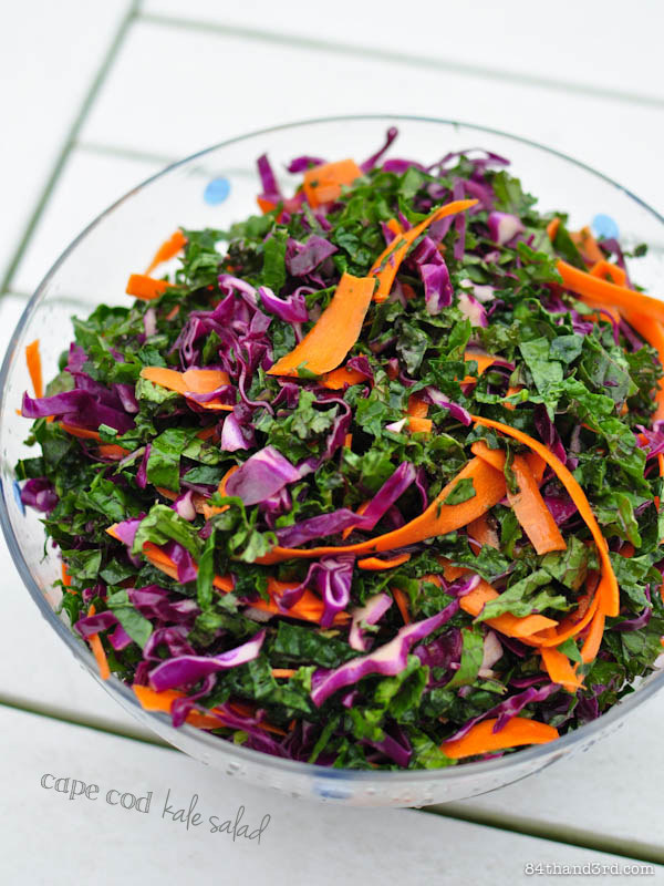 Cape Cod Kale Salad