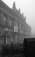 Queensbury in the mist