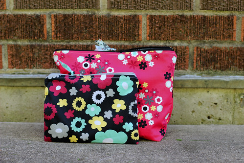 Nordika Zipper Pouches by Jeni Baker