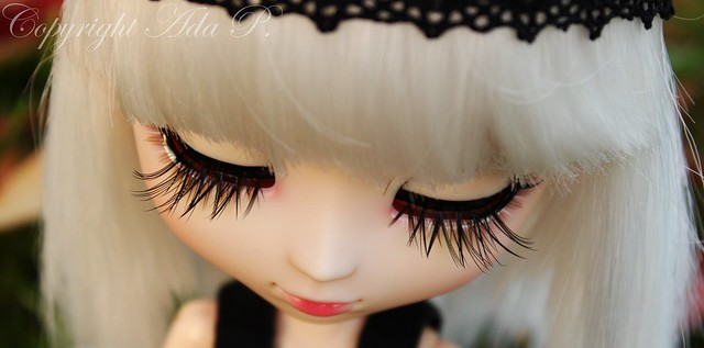 My cutie´s new lashes ♥