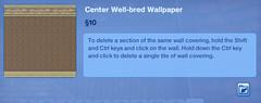Center Well-bred Walpaper