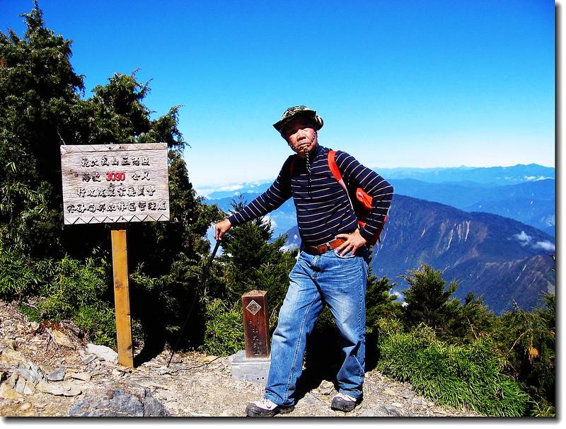 北大武山頂(elev. 3090 m) 1