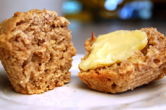 a simple real food recipe :: gluten free apple harvest muffins