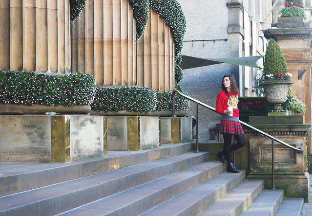 Red and tartan