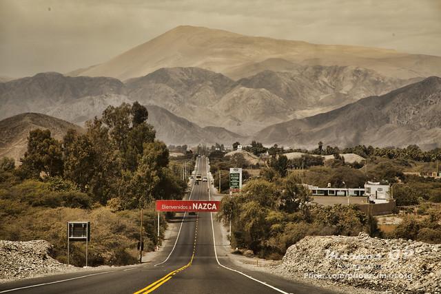Entrando a Nazca