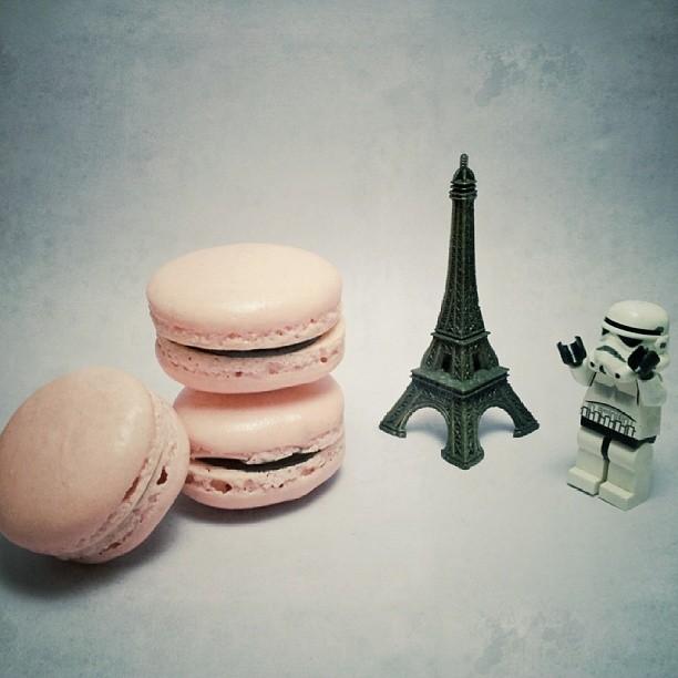 Le Macaron Francais! Lol #baking #macaron #starwars
