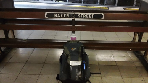 Where to travel from if you fail to catch a Marylebone train: Baker Street ! (Metropolitan line)