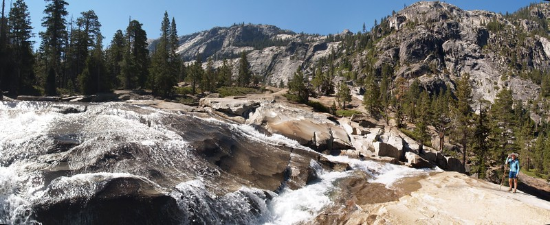 Waterwheel Falls on the Tuolumne River