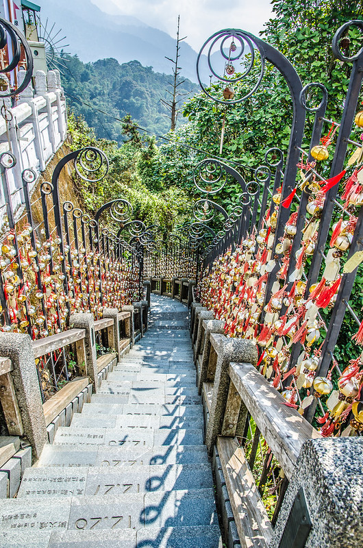 366 steps near Wen Wu Temple