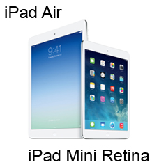 iPad Air + iPad Mini Retina