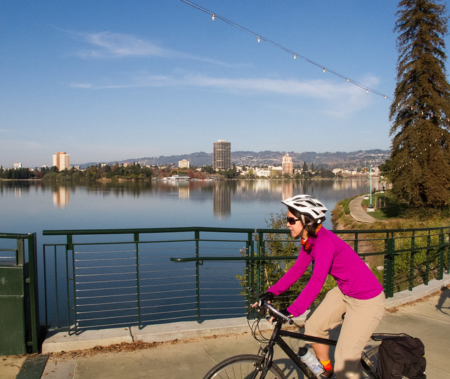 Glory lap around Lake Merritt