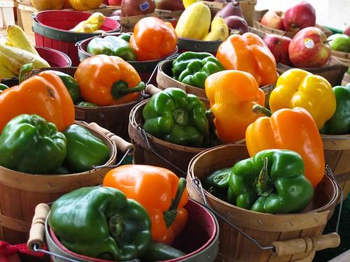 Fulton Street Farmer's Market Shopping  June 08, 2013 4