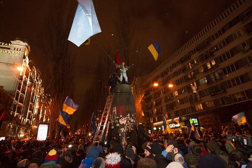 Lenin statue Kiev