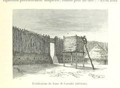 """British Library digitised image from page 385 of """"Les Lacs de l'Afrique Équatoriale. Voyage d'exploration exécuté de 1883 à 1885 ... Ouvrage contenant 161 gravures d'après les dessins de Riou, et 2 cartes"""""""