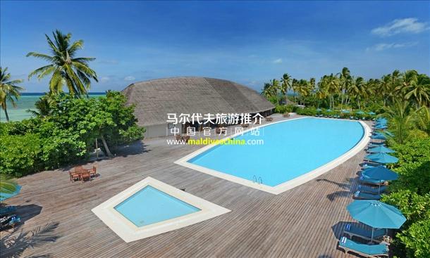 幸福岛(Herathera Island Resort)度假酒店主游泳池