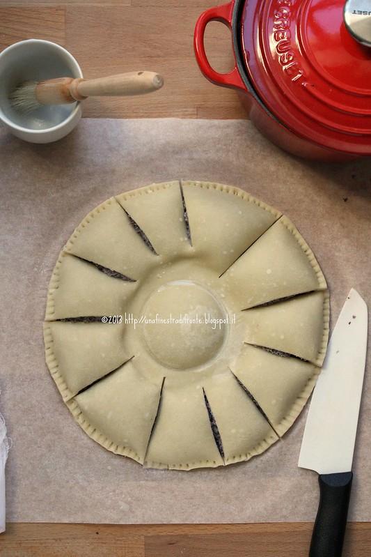 Pie di radicchio: fase 6