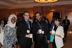 At the NWRI Clarke Prize Conference 11/15/2013