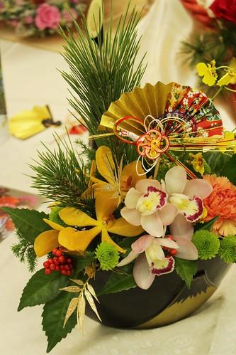 日比谷花壇 お正月アレンジメント