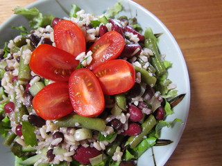 Three-Bean Rice Salad