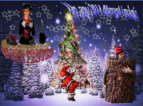 Bones festes - merry Christmas -Felices fiestas, Joyeux Noël by Blanca Martinez i Ribes