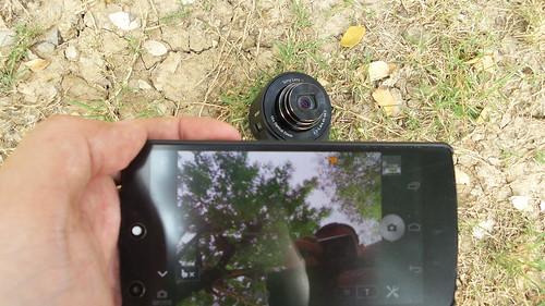 เชื่อมต่อแบบไร้สาย วาง Sony Cybershot QX-10 ไว้จุดนึง ควบคุมระยะไกลจากสมาร์ทโฟนจากอีกจุด