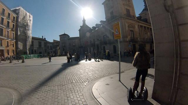Plaza de la Villa, antiguo ayuntamiento de Madrid Segway tour por Madrid, turismo de futuro - 11695243283 d7ee4ae63d z - Segway tour por Madrid, turismo de futuro