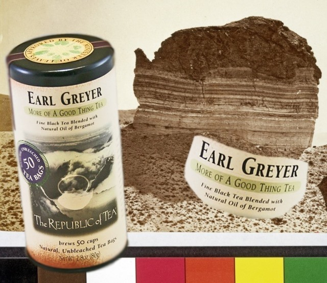 Earl Greyer by The Republic of Tea & Tea Pot Rock Collage