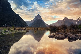 Milford Sound & Sunset