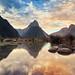Milford Sound & Sunset by Luís Henrique Boucault