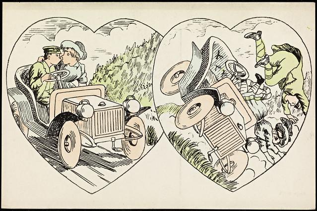 Farlig kjærlighet i bil