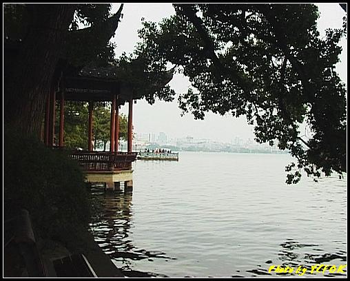 杭州 西湖 (其他景點) - 182 (白堤上的西湖十景之 平湖秋月)