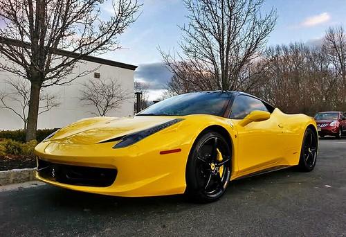 Ferrari rentals Puerto Banus