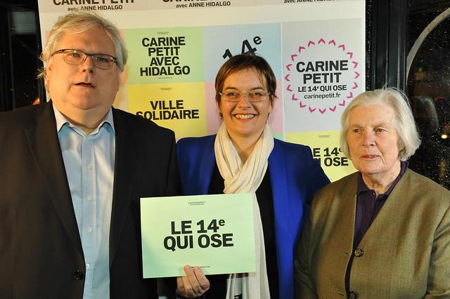 Alain Fuchs Carine Petit et Christiane Hessel
