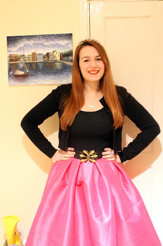Princess outfit, fashion blog