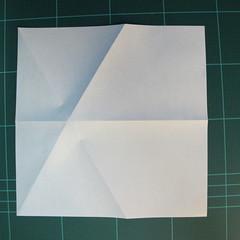 วิธีการพับกระดาษเป็นรูปกบ (แบบโคลัมเบี้ยน) (Origami Frog) 008