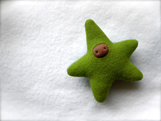 Apple Green/Aqua STAR: BROWN