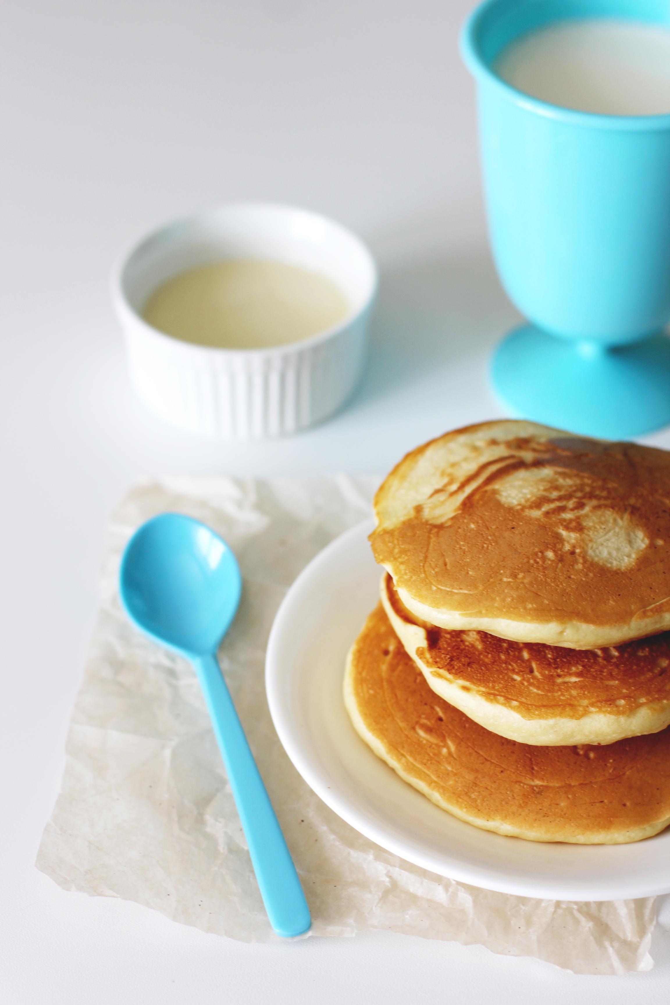 Рецепт панкейки на молоке без яиц рецепт с пошагово