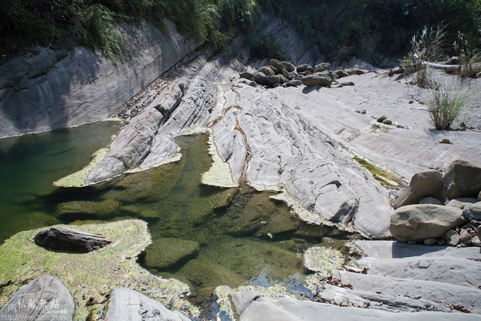 台南私藏景點--關山千層岩瀑布、幽情瀑布 (8)