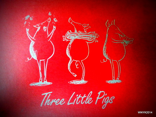 Three Little Pigs by williamnyk